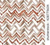tribal ethnic pattern seamless. ... | Shutterstock . vector #428775634