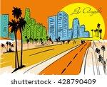 Los Angeles Skyline  Californi...