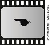whistle icon.