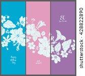 template invitation cards.... | Shutterstock .eps vector #428822890