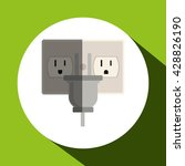 eco icon design  vector... | Shutterstock .eps vector #428826190