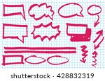infographic elements and... | Shutterstock .eps vector #428832319
