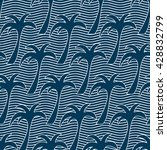 seamless pattern with... | Shutterstock .eps vector #428832799