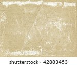 texture of the old paper | Shutterstock . vector #42883453