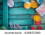 birthday background. birthday... | Shutterstock . vector #428852380