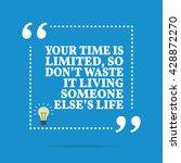 inspirational motivational... | Shutterstock .eps vector #428872270