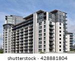 the new building in birmingham... | Shutterstock . vector #428881804