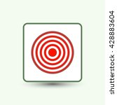 target  icon | Shutterstock .eps vector #428883604