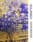 glitter vintage lights... | Shutterstock . vector #428887930