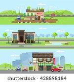 stock vector illustration city... | Shutterstock .eps vector #428898184