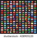 flag of world. vector icons | Shutterstock .eps vector #428905120