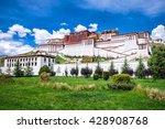 potala palace in lhasa  tibet | Shutterstock . vector #428908768