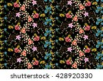trendy seamless floral ditsy... | Shutterstock .eps vector #428920330