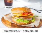 close up takeaway street food ... | Shutterstock . vector #428920840