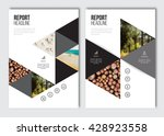business brochure design...   Shutterstock .eps vector #428923558