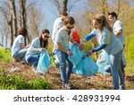 volunteering  charity  cleaning ... | Shutterstock . vector #428931994