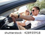 road trip  travel  dating ... | Shutterstock . vector #428935918