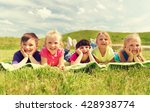 summer  childhood  leisure and... | Shutterstock . vector #428938774
