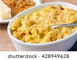 A Dish Of Macaroni Cheese Made...