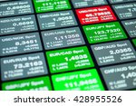 forex market  trading on the... | Shutterstock . vector #428955526