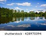 lake in south bohemia | Shutterstock . vector #428970394