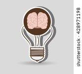 brain storming design  | Shutterstock .eps vector #428971198