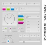 gray ui design  user interface...
