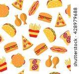 illustration seamless pattern... | Shutterstock . vector #428979688