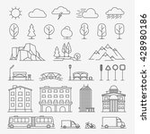 Urban Line Icons. Urban...