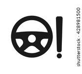 power steering icon vector...   Shutterstock .eps vector #428981500