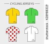 types of cycling sportswear.... | Shutterstock .eps vector #428988319