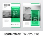 abstract business brochure... | Shutterstock .eps vector #428993740
