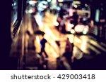 bokeh city light background... | Shutterstock . vector #429003418