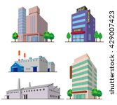 buildings | Shutterstock .eps vector #429007423