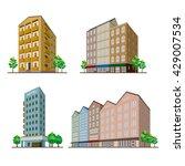 buildings | Shutterstock .eps vector #429007534