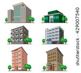 buildings | Shutterstock .eps vector #429007540