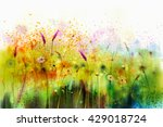 Abstract Watercolor Painting...