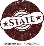 state grunge seal | Shutterstock .eps vector #429033913