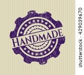 handmade rubber grunge texture... | Shutterstock .eps vector #429039670