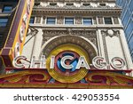 classic architecture in chicago | Shutterstock . vector #429053554