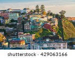 colorful buildings of the... | Shutterstock . vector #429063166