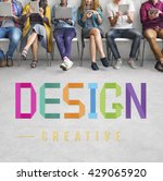 design creative draft ideas... | Shutterstock . vector #429065920