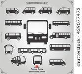 bus icon | Shutterstock .eps vector #429077473