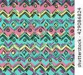 boho style vector background... | Shutterstock .eps vector #429086824
