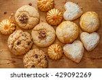 assorted freshly baked homemade ... | Shutterstock . vector #429092269