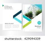 White Brochure  Leaflet  Flyer...