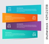 infographic templates for... | Shutterstock .eps vector #429121558
