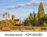worcester cathedral from the... | Shutterstock . vector #429160180