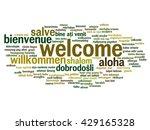 vector concept or conceptual... | Shutterstock .eps vector #429165328