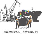 pattern vector illustration .... | Shutterstock .eps vector #429180244
